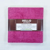 "Charm Pack Hello Warm 42 st 5""x5"" rutor"