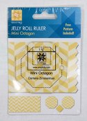 Mini octagon Jelly Roll Ruler