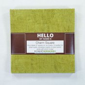 "Charm Pack Hello cool 42 st5""x5"" rutor"