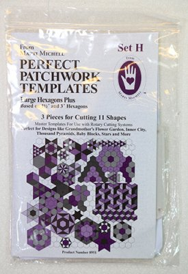 Marti Michell Set H Large Hexagons plus