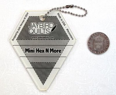Jay Bird Quilt Mini Hex N More